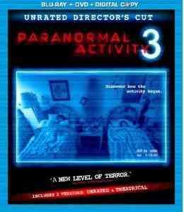 PARANORMAL ACTIVITY 3 BY BITTNER,LAUREN (Blu-Ray)